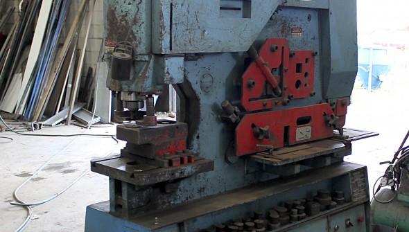 Punzadora - Trabajos en acero en Tapia de Casariego - Asturias